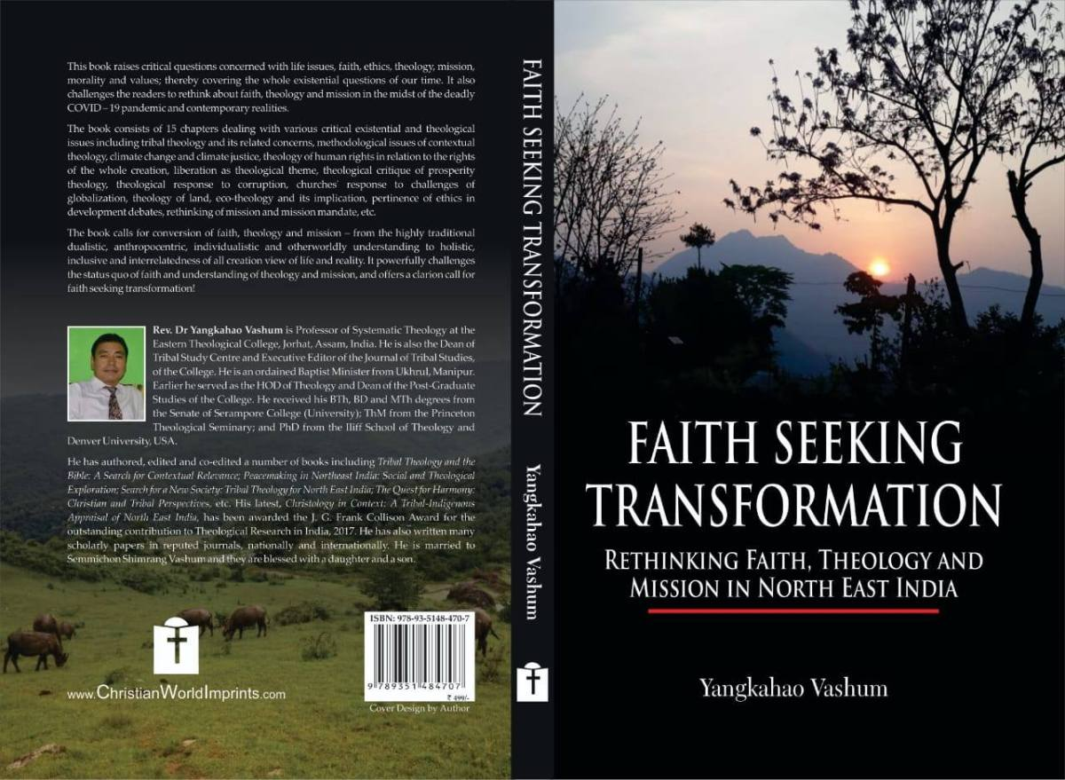 Can Yangkahao Vashum Reconstruct Indigenous Theology? Released New Book